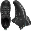 Keen M's Targhee Exp Waterproof Mid Shoes Black/Steel Grey